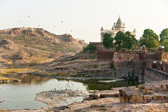 View of Jodhpur, the blue city. Royalty Free Stock Image