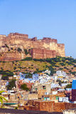 A view of Jodhpur, the Blue City Royalty Free Stock Images