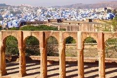 View of Jodhpur-blue city. India. Stock Photography