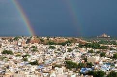 View of Jodhpur (Blue city).India Royalty Free Stock Image