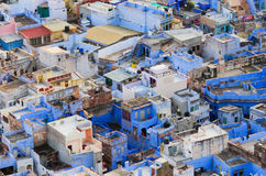 View of Jodhpur (Blue city). India Royalty Free Stock Images