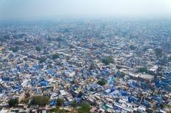 View of Jodhpur, the Blue City Stock Photos