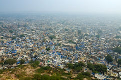 View of Jodhpur, The Blue City from Mehrangarh Fort Royalty Free Stock Photography