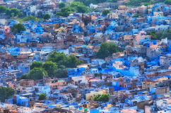 View of Jodhpur Blue city.Rajasthan, India Stock Photography