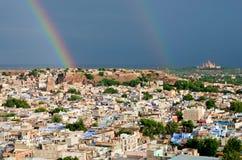 View of Jodhpur (Blue city).Rajasthan, India Stock Photos