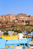 A view of Jodhpur, the Blue City of Rajasthan Royalty Free Stock Photos