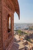 View from Jodhpur Fort Royalty Free Stock Image