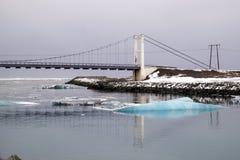 View of Jokulsarlon Ice Lagoon Stock Photos