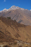 View from Joshimath Royalty Free Stock Photo