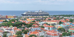 View from the Julianna bridge - crusie ship Royalty Free Stock Photos