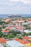 View from the Julianna bridge Curacao Views Royalty Free Stock Photos