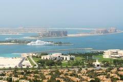 View on Jumeirah Palm man-made island Stock Photo