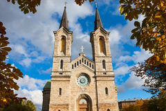 View of Kaarli church, Tallinn Royalty Free Stock Images