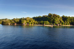 View of Kadidiri island. Togean Islands Royalty Free Stock Photo