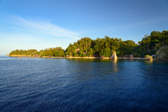 View of Kadidiri island. Togean Islands Royalty Free Stock Image