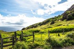 View of Kahakuloa coast, Maui Royalty Free Stock Image