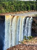 A view of the Kaieteur falls, Guyana. The waterfall is one of the most beautiful and majestic waterfalls in the world stock photos