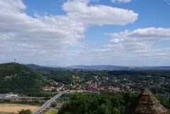 View from Kaiser Wilhelm Denkmal Stock Image