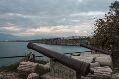 View of Kaleici in Antalya. Royalty Free Stock Photo
