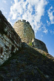 View of Kalemegdan fortress wall from below in Belgrade Stock Photography