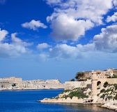 View of Kalkara and Valetta Stock Images