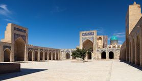 View of Kalon mosque - Bukhara Royalty Free Stock Images