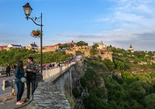 View of Kamyanets-Podilsky Royalty Free Stock Photos