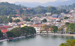 View on Kandy City, Sri Lanka Stock Image