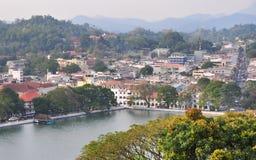 View on Kandy City, Sri Lanka Stock Photo