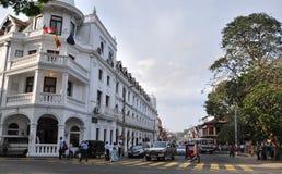 View of Kandy street, Sri Lanka Royalty Free Stock Image