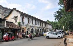 View of Kandy street, Sri Lanka Stock Photography