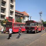 View of Kandy street Stock Image