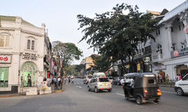 View of Kandy street Stock Images