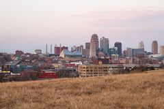 View of Kansas City Royalty Free Stock Image