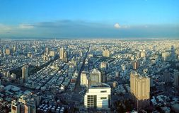 View of Kaohsiung City in Taiwan Royalty Free Stock Image