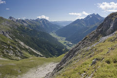 The view from Kapall Stock Image