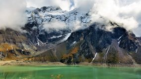 View from Kaprun Dams in Zell Am See Stock Images