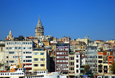 View of the Karakoy Royalty Free Stock Images
