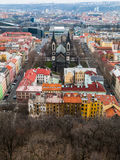 View of Karlin district Royalty Free Stock Photo