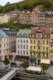 View of Karlova Vary, Czech republic Stock Images