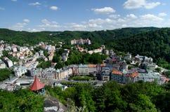 View Karlovy Vary, Czech republic Royalty Free Stock Photos