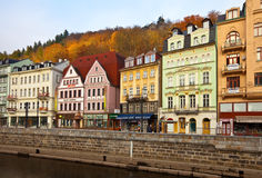 View of Karlovy Vary. Czech Republic Royalty Free Stock Photography