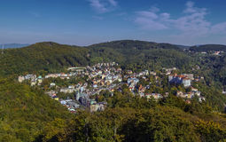 View of Karlovy Vary, Czech republic Stock Image