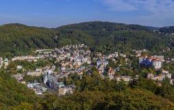 View of Karlovy Vary, Czech republic Stock Image