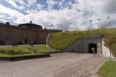 View in Karlsborg Fortress in Sweden Stock Photo