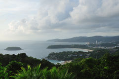 View from Karon View Point Stock Image