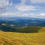 View of Karpaty mountain Stock Photo