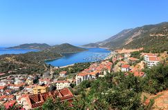 View on Kas. Stock Photo