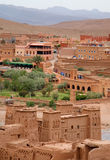 View from Kasbah Ait Benhaddou Royalty Free Stock Images