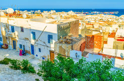 The view from Kasbah Royalty Free Stock Photography